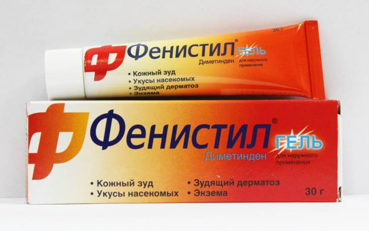 Аллергия как укус комара с отеком