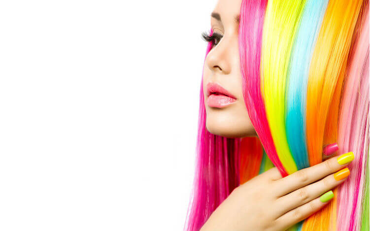 Аллергия на краску мелирование