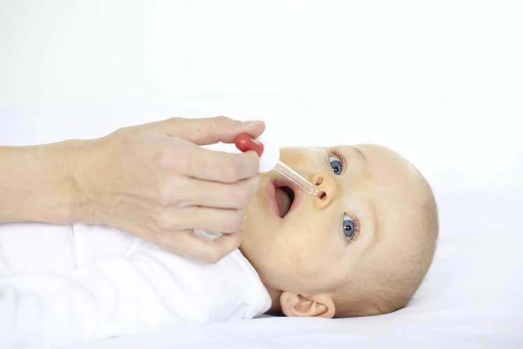 Капли от аллергии в нос для детей